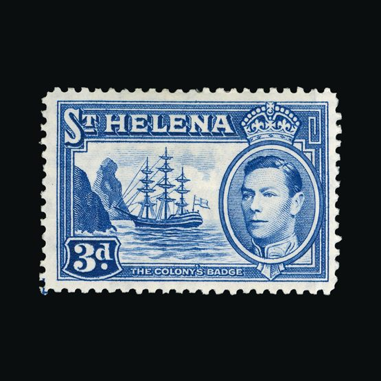 Lot 21280 - st. helena 1938-44 -  Universal Philatelic Auctions Sale #73