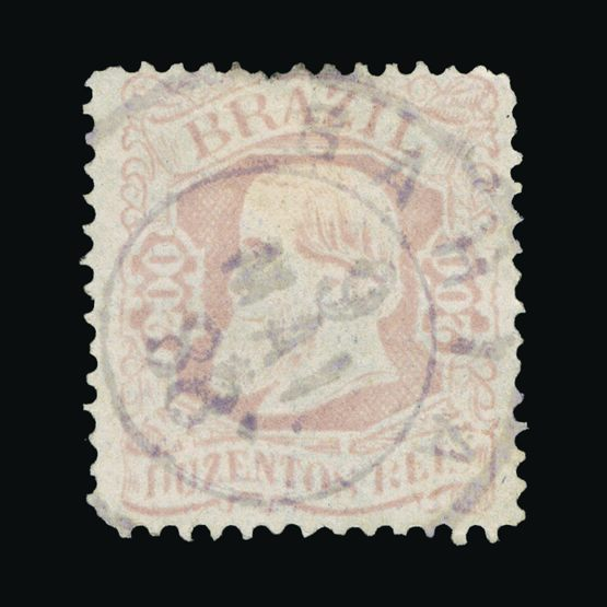 Lot 2530 - brazil 1882 -  Universal Philatelic Auctions Sale #73