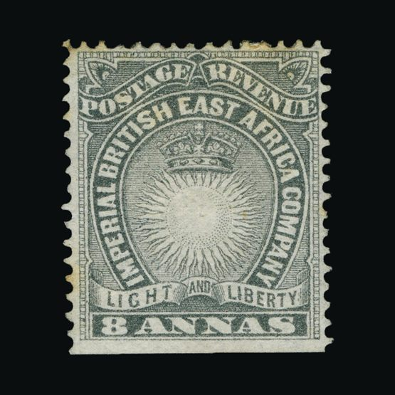 Lot 2580 - british east africa 1890-95 -  Universal Philatelic Auctions Sale #73