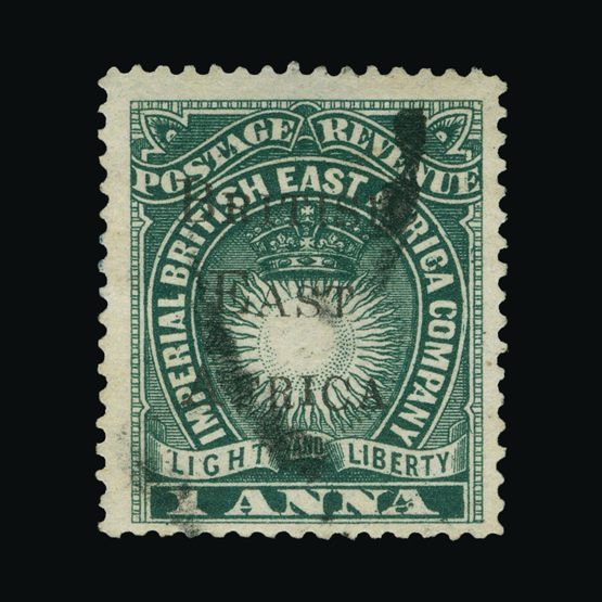 Lot 2594 - british east africa 1895 -  Universal Philatelic Auctions Sale #73