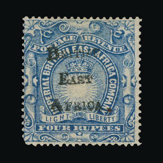 Lot 2601 - british east africa 1895 -  Universal Philatelic Auctions Sale #73