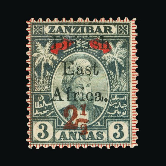 Lot 2615 - british east africa 1897 -  Universal Philatelic Auctions Sale #73