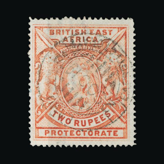 Lot 2621 - british east africa 1897-1903 -  Universal Philatelic Auctions Sale #73