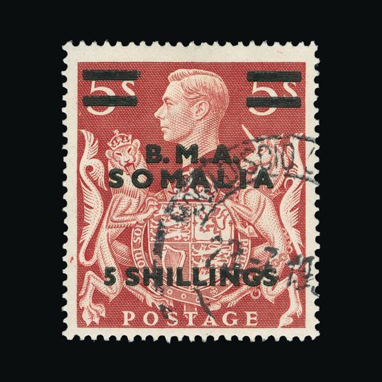 Lot 2876 - british occupation of italian colonies 1943-46 -  Universal Philatelic Auctions Sale #73