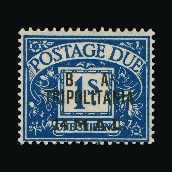 Lot 2889 - british occupation of italian colonies 1948 -  Universal Philatelic Auctions Sale #73