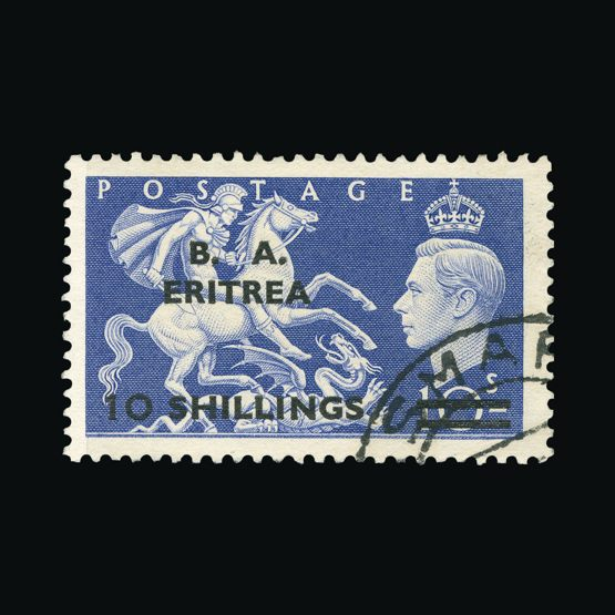 Lot 2926 - british occupation of italian colonies 1951 -  Universal Philatelic Auctions Sale #73