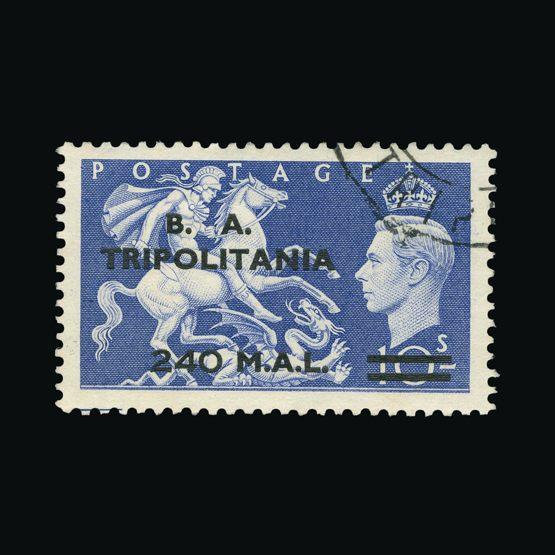 Lot 2927 - british occupation of italian colonies 1951 -  Universal Philatelic Auctions Sale #73