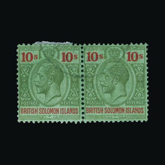 Lot 3002 - british solomon islands 1922-31 -  Universal Philatelic Auctions Sale #73