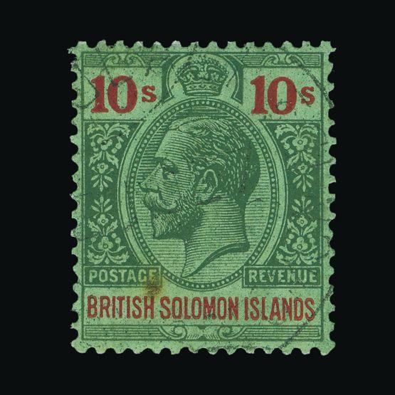 Lot 3006 - british solomon islands 1922-31 -  Universal Philatelic Auctions Sale #73