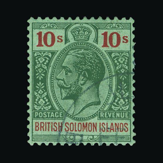 Lot 3007 - british solomon islands 1922-31 -  Universal Philatelic Auctions Sale #73