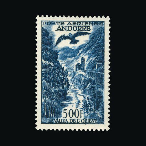 Lot 366 - Andorra 1957 -  Universal Philatelic Auctions Sale #73