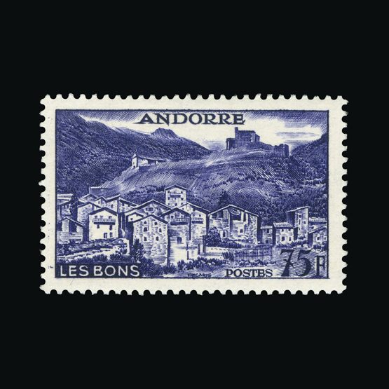 Lot 369 - Andorra - French Post Offices 1955 -  Universal Philatelic Auctions Sale #73