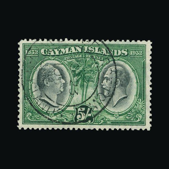 Lot 3878 - cayman islands 1932 -  Universal Philatelic Auctions Sale #73