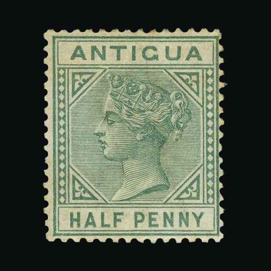 Lot 424 - antigua 1882 -  Universal Philatelic Auctions Sale #73