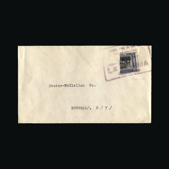 Lot 4262 - Colombia 1930 -  Universal Philatelic Auctions Sale #73