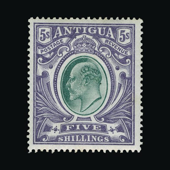Lot 438 - antigua 1903 -  Universal Philatelic Auctions Sale #73