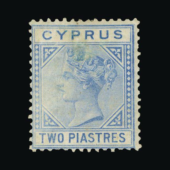 Lot 4504 - Cyprus 1881 -  Universal Philatelic Auctions Sale #73