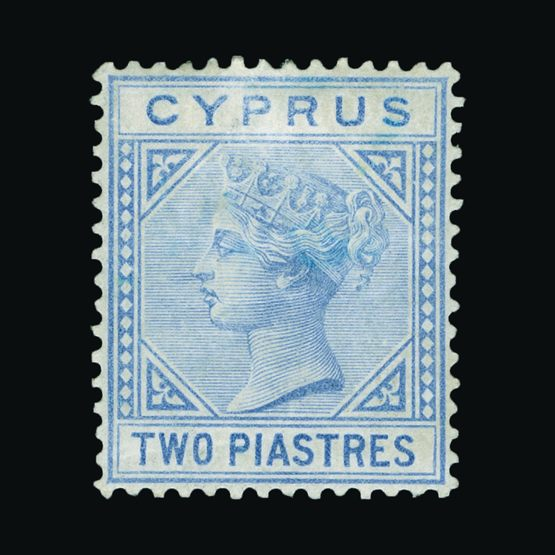 Lot 4508 - Cyprus 1881 -  Universal Philatelic Auctions Sale #73