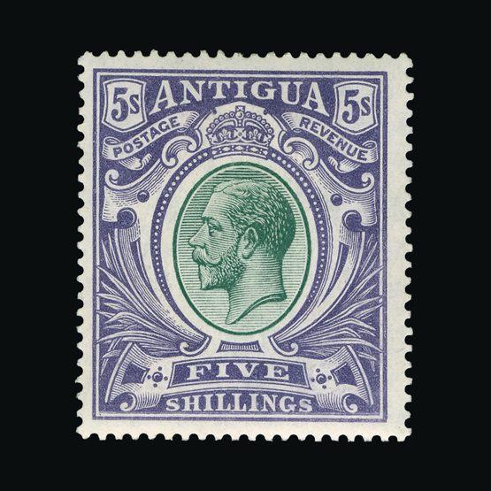 Lot 457 - antigua 1913 -  Universal Philatelic Auctions Sale #73