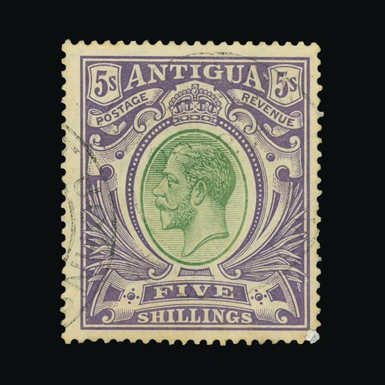 Lot 459 - antigua 1913 -  Universal Philatelic Auctions Sale #73