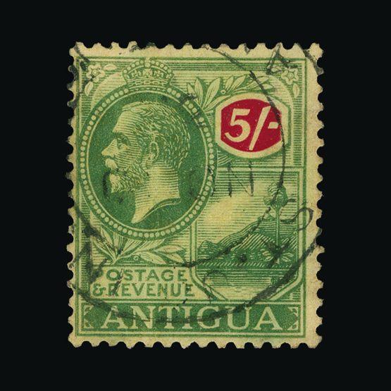 Lot 461 - antigua 1916-18 -  Universal Philatelic Auctions Sale #73