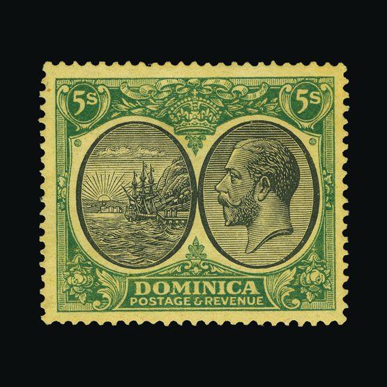 Lot 4865 - dominica 1923-33 -  Universal Philatelic Auctions Sale #73