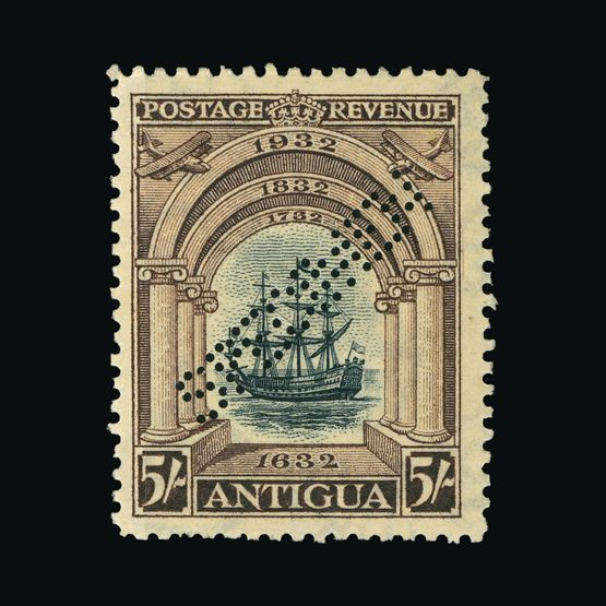 Lot 490 - antigua 1932 -  Universal Philatelic Auctions Sale #73