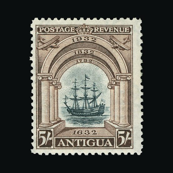 Lot 491 - antigua 1932 -  Universal Philatelic Auctions Sale #73