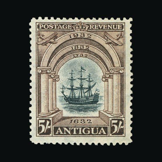 Lot 494 - antigua 1932 -  Universal Philatelic Auctions Sale #73