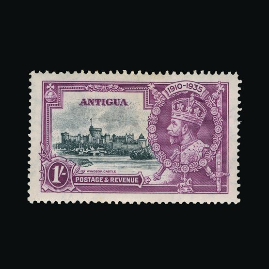 Lot 500 - antigua 1935 -  Universal Philatelic Auctions Sale #73