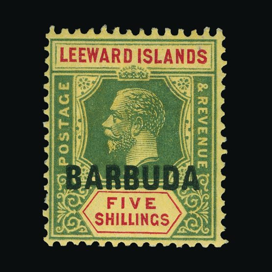 Lot 528 - Antigua - Barbuda 1922 -  Universal Philatelic Auctions Sale #73