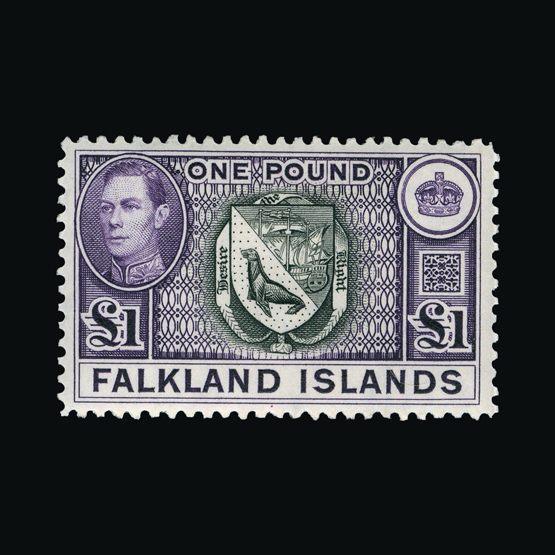 Lot 5286 - falkland islands 1938-49 -  Universal Philatelic Auctions Sale #73