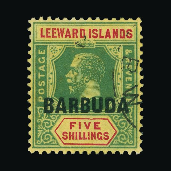 Lot 529 - Antigua - Barbuda 1922 -  Universal Philatelic Auctions Sale #73