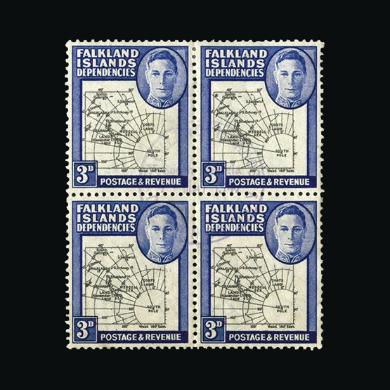Lot 5395 - Falkland Islands - Dependencies 1946-49 -  Universal Philatelic Auctions Sale #73