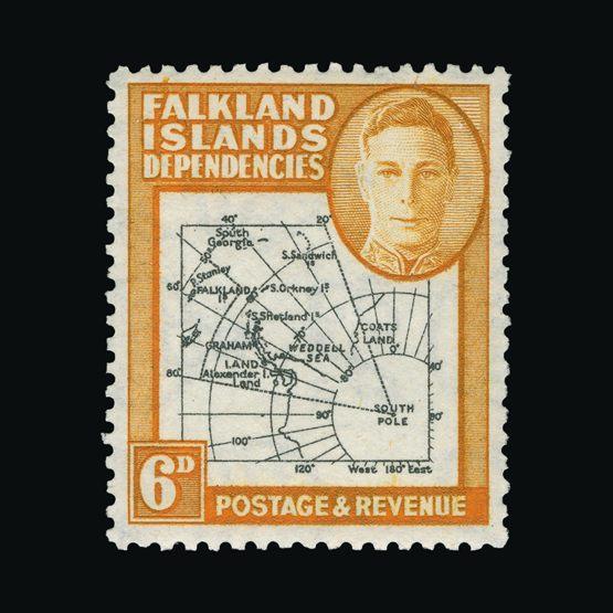 Lot 5399 - Falkland Islands - Dependencies 1946-49 -  Universal Philatelic Auctions Sale #73