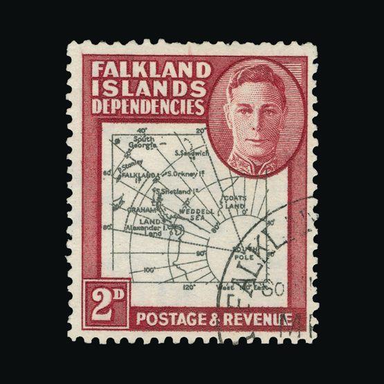Lot 5404 - Falkland Islands - Dependencies 1946-49 -  Universal Philatelic Auctions Sale #73