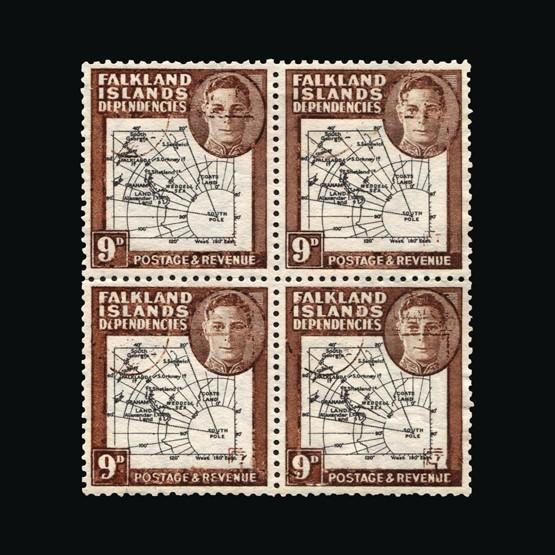 Lot 5406 - Falkland Islands - Dependencies 1946-49 -  Universal Philatelic Auctions Sale #73