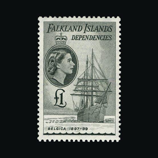 Lot 5416 - Falkland Islands - Dependencies 1954-62 -  Universal Philatelic Auctions Sale #73
