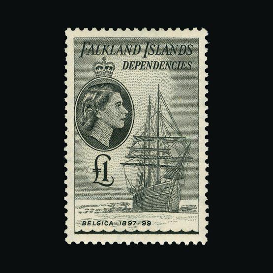 Lot 5417 - Falkland Islands - Dependencies 1954-62 -  Universal Philatelic Auctions Sale #73