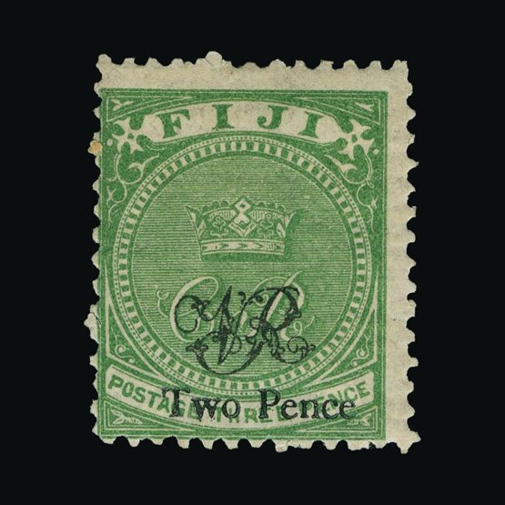 Lot 5455 - fiji 1876-77 -  Universal Philatelic Auctions Sale #73