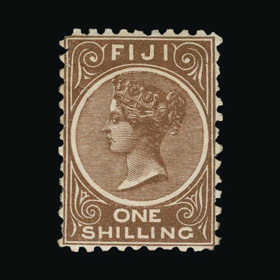 Lot 5466 - fiji 1881-99 -  Universal Philatelic Auctions Sale #73