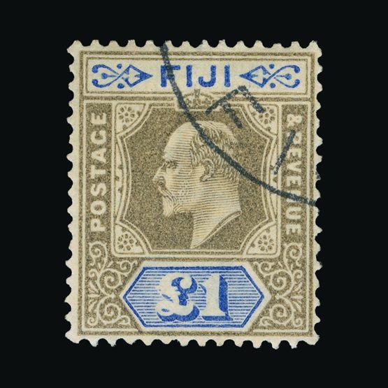 Lot 5485 - fiji 1903 -  Universal Philatelic Auctions Sale #73