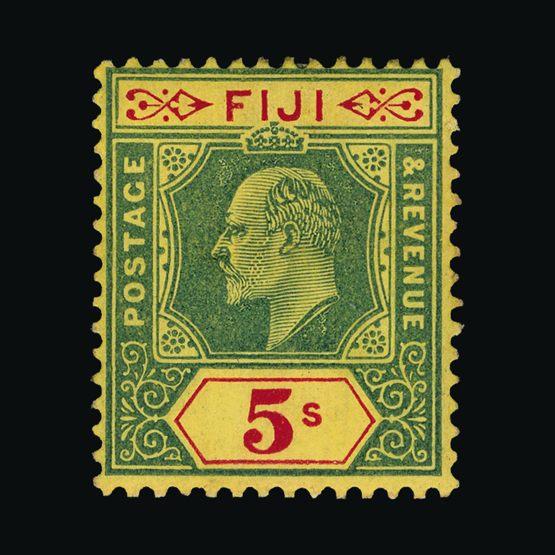 Lot 5504 - fiji 1906-12 -  Universal Philatelic Auctions Sale #73