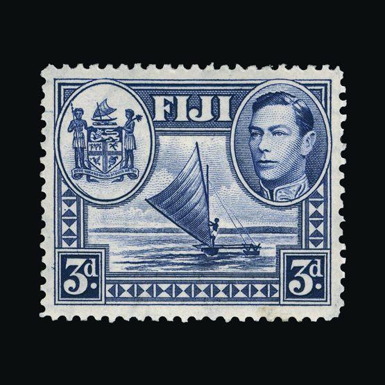 Lot 5523 - fiji 1938-55 -  Universal Philatelic Auctions Sale #73