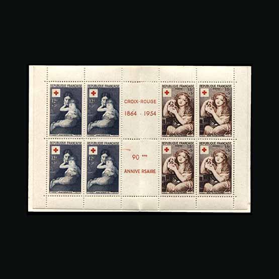 Lot 5833 - France - Booklets 1954 -  Universal Philatelic Auctions Sale #73