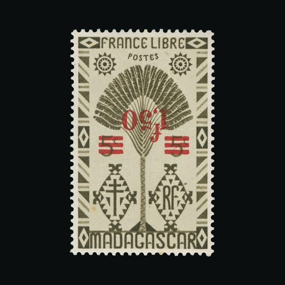 Lot 5956 - France - Colonies - Madagascar 1944 -  Universal Philatelic Auctions Sale #73