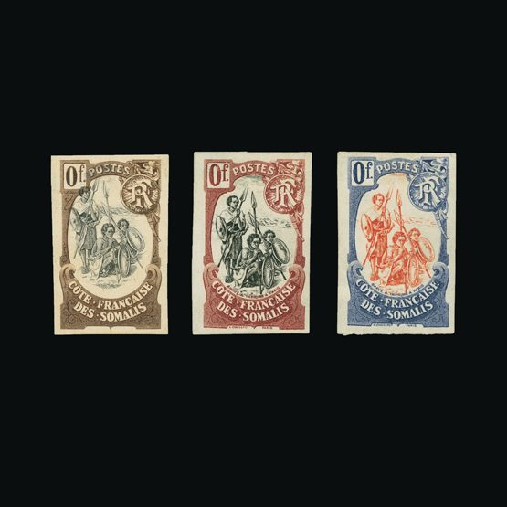 Lot 6002 - France - Colonies - Somali Coast 1902 -  Universal Philatelic Auctions Sale #73