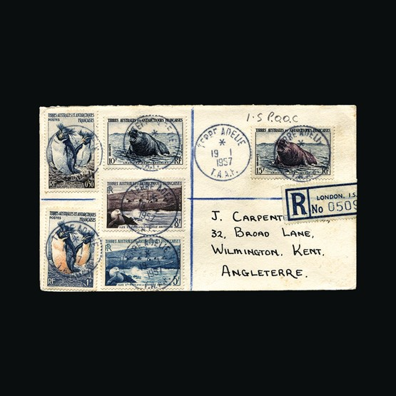 Lot 6036 - France - Colonies - Southern and Antarctic Territories 1957 -  Universal Philatelic Auctions Sale #73