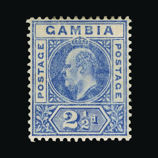Lot 6234 - gambia 1902-03 -  Universal Philatelic Auctions Sale #73
