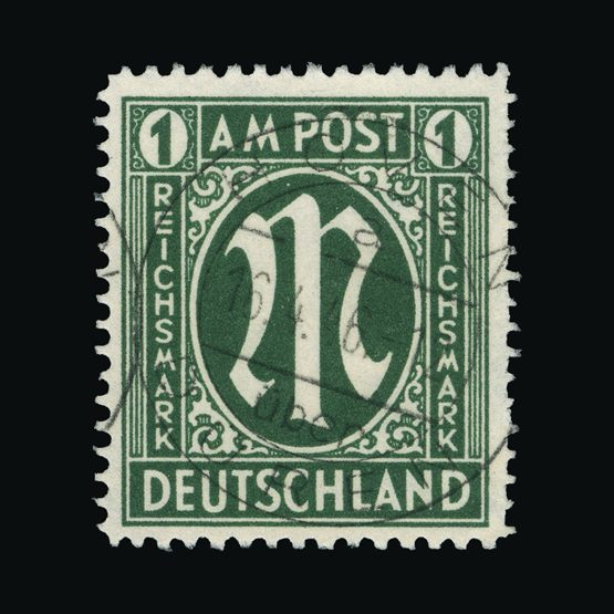 Lot 6351 - Germany - Allied Military Post 1945-46 -  Universal Philatelic Auctions Sale #73
